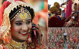 Đại gia Ấn Độ tổ chức đám cưới cho 261 cô gái nhà nghèo, cho cả của hồi môn khi về nhà chồng