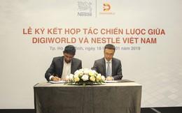 Digiworld và Nestlé Việt Nam ký hợp tác chiến lược phát triển thị trường cho sản phẩm dinh dưỡng y học