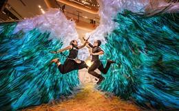 Triển lãm tác phẩm nghệ thuật bảo vệ môi trường làm từ 160.000 ống hút nhựa gom từ khắp các đường phố Việt Nam