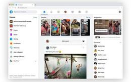 Xem Facebook web lột xác siêu lạ: Chữ to sạch đẹp như vở cấp 1, hết trắng tinh khôi lại đến Dark Mode
