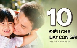 Muốn con gái một đời bình an, tất cả các ông bố hãy dạy con 10 bài học đắt giá hơn vàng này