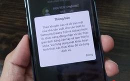 Ngân hàng Việt vẫn chặn tính năng mở khoá vân tay trên Galaxy S10/Note 10