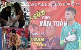 Gia đình thủ môn U22 Việt Nam, Nguyễn Văn Toản nhộn nhịp chuẩn bị cổ vũ trận chung kết SEA Games 30