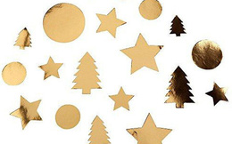 Hiểm họa tiềm tàng từ đồ trang trí Giáng Sinh: Những ngôi sao kim tuyến