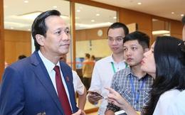 Bộ trưởng Đào Ngọc Dung: Chuyển lương vào tài khoản vợ là bình thường