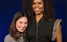 Không nghi ngờ gì nữa, cựu đệ nhất phu nhân Michelle Obama đã thực sự 'phải lòng' thiết kế của Công Trí