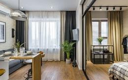 Vỏn vẹn 25m² nhưng căn hộ nhỏ với vẻ ngoài độc đáo vẫn khiến người xem mãn nhãn vì sự kết hợp siêu mượt mà