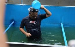 Bất thường sông Tô Lịch: Tiến sĩ Nhật tắm nước trong veo, Hà Nội chê đen kịt?