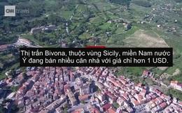 """""""Thị trấn ma"""" ở Italy đua nhau rao bán nhà 1 USD để hút cư dân"""
