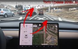 Trí tuệ nhân tạo trên xe Tesla đã có thể nhận ra đèn xanh, đỏ, thùng rác và các vật thể đi trên đường