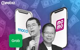 """Bức tranh Thanh toán số 2019: MoMo bứt tốc, Moca đại nhảy vọt nhờ """"mẹ"""" Grab chống lưng """"đốt tiền"""", VinID Pay vươn ra ngoài hệ sinh thái Vingroup"""