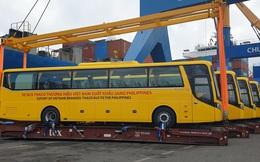 """Việt Nam xuất khẩu xe bus sang Philippines: Giấc mơ xuất khẩu ô tô """"made in Vietnam"""" ra thế giới thành sự thật"""