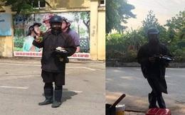 Công an truy tìm người đàn ông mặt bôi đen, tay cầm đầu gà bí hiểm khiến dân Hà Nội xôn xao 2 ngày qua