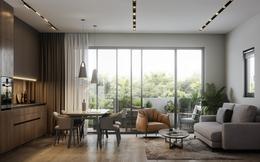 Tư vấn thiết kế nhà cấp 4 nhỏ gọn có diện tích 40m² với chi phí gần 60 triệu đồng