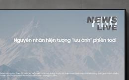 """Vừa khiếu nại LG vì quảng cáo """"dìm"""" TV QLED, đến lượt Samsung Việt Nam tung quảng cáo chê TV OLED """"nhanh tàn"""""""