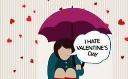 Nghiên cứu khoa học chỉ rõ 3 lý do khiến bạn ghét ngày Valentine tới tận xương tủy!