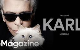 Karl Lagerfeld: 85 năm cuộc đời chỉ gắn liền với hai chữ, vài người đàn ông và một chú mèo