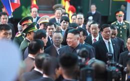 Đoàn xe chủ tịch Triều Tiên Kim Jong Un về đến khách sạn Melia, Hà Nội