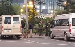 Siết an ninh quanh khu VIP sân bay Nội Bài trước giờ đón ông Trump