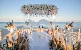 [Ảnh] Cặp đôi tỷ phú Ấn Độ cắt bánh trong lễ cưới chính thức, khép lại chuỗi 11 buổi tiệc lớn nhỏ trong 1 tuần tại Phú Quốc