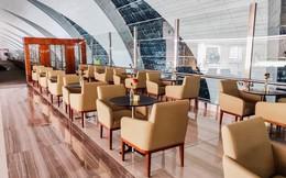 Bên trong phòng chờ lên máy bay dành giới nhà giàu của hãng Emirates