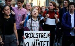 Cô gái 16 tuổi vận động mọi người bỏ học để biểu tình chống biến đổi khí hậu được đề cử giải Nobel hòa bình