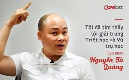 Sau khi nghiên cứu sâu về triết học và khoa học vũ trụ, CEO Nguyễn Tử Quảng đã tìm ra lời giải để Việt Nam bùng nổ sau 10 năm và 15 năm sau trở thành cường quốc