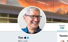 'Mặn' như Tim Cook: Sau khi tổng thống Donald Trump gọi nhầm là Tim Apple liền đổi tên tài khoản Twitter thành Tim và logo quả táo khuyết