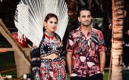 [Ảnh] Đêm tiệc cưới thứ 2 của cặp đôi tỷ phú Ấn Độ: Cuốn hút và nóng bỏng