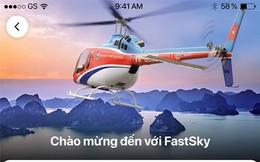 FastGo công bố dịch vụ di chuyển bằng máy bay, ngày 25/4 sẽ bay chính thức, nhưng không đề cập đến việc được cấp phép hay chưa