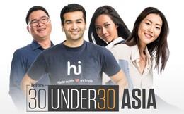 30 doanh nhân trẻ Châu Á lộ diện trên tạp chí Forbes : Sản phẩm blockchain tiên tiến hơn Bitcoin, khởi nghiệp trà oganic, robot rà phá bom mìn nắm tay nhau bước vào danh sách