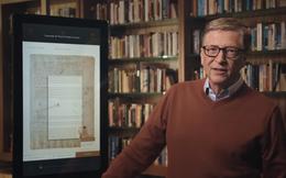 Nổi tiếng là người tằn tiện, nhưng 25 năm trước Bill Gates từng chi 30,8 triệu USD để mua một quyển sách, sau đó cho mọi người đọc miễn phí