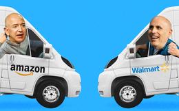 """Cuộc chiến Shipping: Walmart tham vọng """"cuốn gói"""" Amazon ra đảo bằng dịch vụ giao hàng miễn phí và cam kết giao ngay hôm sau"""