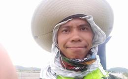 113 ngày đi bộ xuyên Việt chỉ với 100.000 đồng trong túi