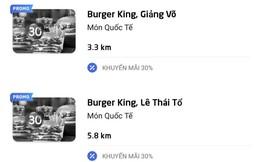 """Sau lùm xùm với tài xế Go-Viet, Burger King """"rủ"""" Pizza Company cùng nhiều cửa hàng """"bay màu"""" đồng loạt trên Go-Food"""