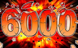 Bitcoin tăng giá 5 ngày liên tiếp, chính thức vượt mốc 6.000 USD