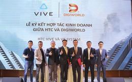 Digiworld hợp tác HTC phân phối thiết bị thực tế ảo - vì chúng ta cần nhau