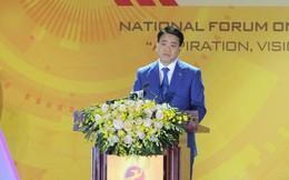 """Ông Nguyễn Đức Chung: Công nghệ đã """"dẹp"""" tình trạng xô đổ cổng trường nộp hồ sơ cho con"""
