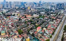 """Toàn cảnh """"rừng"""" cao ốc đang bóp nghẹt khu đô thị kiểu mẫu bậc nhất Hà Nội"""