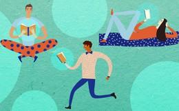 """Cứ mạnh dạn bỏ ngang những cuốn sách trót mua nhưng càng đọc càng """"buồn ngủ""""... vì cố gắng đọc cuốn sách mình không thích là lãng phí thời gian nhất trên đời!"""