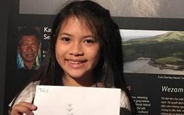 Bộ trưởng Tài nguyên và Môi trường gửi thư khen cô bé đề xuất 'khai giảng không bóng bay'