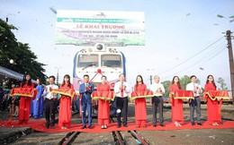 Viettel Post khai trương dịch vụ tàu hàng nhanh Bắc – Nam, thời gian vận chuyển đường sắt chỉ còn hơn 1 ngày