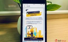 Ứng dụng gọi xe be bất ngờ tung ra dịch vụ giao hàng nhanh và chuyển phát cạnh tranh với Go-Viet, Grab