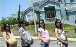 Phụ nữ Trung Quốc đua nhau sang Mỹ sinh con