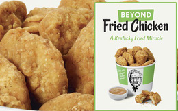 """Chúng ta sắp được đến KFC ăn thịt viên và cánh gà chiên nhưng """"không làm từ gà"""", không chỉ tốt cho sức khỏe mà còn giúp bảo vệ môi trường"""