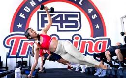 """F45 Training - đi gym như đi """"quẩy"""": Có DJ chơi nhạc, không máy chạy bộ chẳng tạ nâng, được giao lưu kết bạn, giá đắt gấp 12 lần khiến thành viên chẳng nỡ bỏ ngang"""