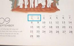 Lịch nghỉ lễ Quốc khánh 2/9 năm 2019 chính thức