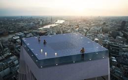Bể bơi vô cực 360 độ trên nóc cao ốc tại London, làm sao để vào bơi?