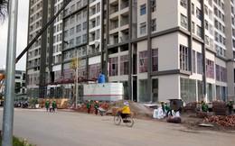 Khối đế thương mại chung cư ngoài trung tâm đang bị để trống khá nhiều
