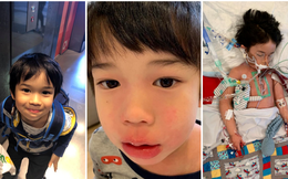 """Bé trai 4 tuổi phải nằm viện 6 tháng vì bị nhiễm trùng máu và mắc bệnh do """"vi khuẩn ăn thịt"""", triệu chứng ban đầu chỉ là đau chân"""